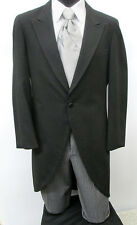 Black Cutaway / Morning Coat With Pants Costume Christmas Victorian Dickens 38L