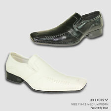 CORONADO New Men Dress Shoe RICKY  Double Runner Loafer with Leather Lining