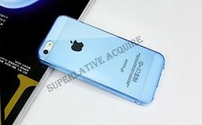 Soft Gel TPU Silicone Thin Clear Transparent Case Cover For iPhone 5 5G 5S .