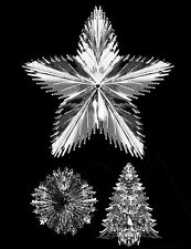 Silver Foil Ceiling Hanging Christmas Decoration
