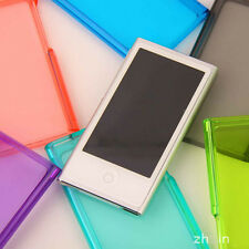 Crystal Transparent Hard Case Cover Shell For Apple ipod nano7