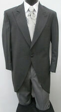 Grey Chaps Cutaway/Morning Coat w/ Pants Costume Christmas Victorian Dickens 44R