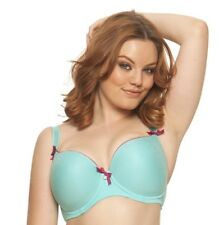 Starlet by Curvy Kate CK2501 UW Frost/Boysenberry Moulded Bra NWT Large Sizes