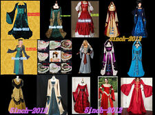 New Lolita Gothic Renaissance Medieval Costume Mythic long Dress,woman's dress