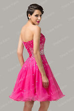2014 Sweetheart Graduation Mini Bridesmaids Formal Cocktail Evening Prom Dresses