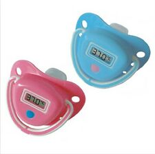 Hot 1PC Baby Digital Dummy Pacifier Electronic Thermometer Soother Trendy, BP45