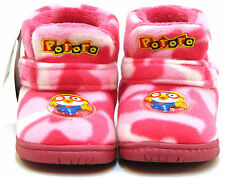【Pororo Milly Ankle Boots】Kids/Girls Infant for Shoes Cheap Warm Color Pinks