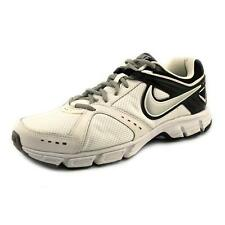 Nike Downshifter 4 Mens White Mesh Running Shoes