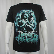 Authentic INFANT ANNIHILATOR Band Pinwheel Skull Logo T-Shirt S-2XL NEW