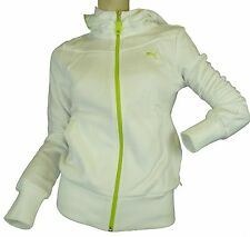 New - PUMA  WOMEN'S LOGO HOODED SWEAT JACKET hoody