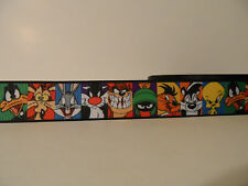 Grosgrain Ribbon, Cartoon #5 Beep Beep Where's My Carrots? Grrrrrr Tweet, 1""