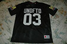UNDEFEATED BAD SPORTS MESH JERSEY BLACK NWT supreme diamond supply 10 deep