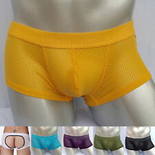 1Pcs Sexy Men Underwear Backless Soft Male Jockstrap Thong Boxer Shorts IN S M L