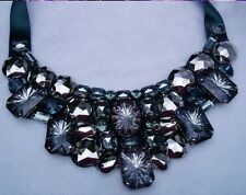Joan Rivers Crystal Bib-Style Statement Necklace
