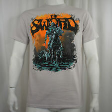 Authentic THE SWORD Band Black River Logo T-SHIRT S M L XL 2XL NEW