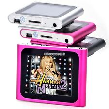 "New 16GB Slim Mp3 Mp4 Player w / 1.8 ""d'écran LCD, radio FM, vidéo, photos E88"