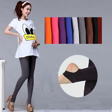Pregnancy Womens Pants Maternity Leggings Tights Cotton Stirrup Legging 9 Color