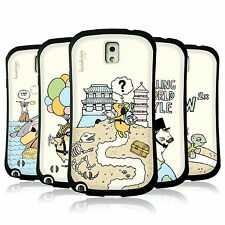 HEAD CASE DESIGNS WORLD TRAVELLERS TPU CASE FOR SAMSUNG GALAXY NOTE 3 N9002