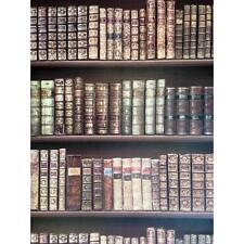 NEW DIRECT BOOKCASE CLASSIC LEATHER BOOKS LIBRARY MURAL WALLPAPER ROLL 575208