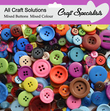 QUALITY MIXED BUTTONS / PLASTIC BUTTONS / ASSORTED BUTTONS / ARTS & CRAFTS
