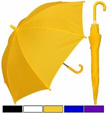 "New RainStoppers 32"" Children Kid Solid Color Umbrella -Free Priority Shipping"