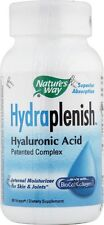 Nature's Way Hydraplenish Hyaluronic Acid 60 Vcaps BioCell Collagen II (#6018)