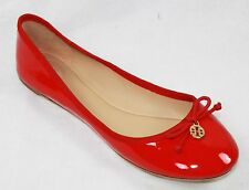 AUTH Tory Burch Women Chelsea Ballet Soft Patent Calf Flat Shoes