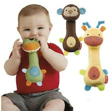 New Kids Baby Development Toy Soft Toy Animal Handbell Rattle Bed Stroller Bell