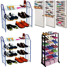 NEW FLOOR STANDING / OVER DOOR HANGING SHOE ORGANIZER STORAGE RACK SHOES STAND