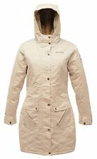 REGATTA LADIES NIGHTSKY WATERPROOF PADDED COAT LIGHT VANILLA WHITE RWP172