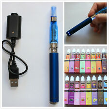 E-Shisha Electronic Vaporizer RECHARGEABLE LED 900 mAh 12 Colours + e juice