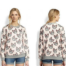 New Womens Clothes Sweaters Plus Size XXL Cheap Clothes Wholesale Cat Printed