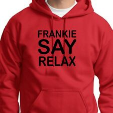 FRANKIE SAY RELAX Retro 80's Music T-shirt Goes To Hollywood Hoodie Sweatshirt