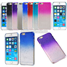 3D Rain Drop Clear Crystal Gradient Thin Hard Case Cover For iPhone 6/6 plus
