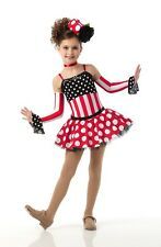 ITS A SMALL WORLD Tap Dress w/Sleeves & Hat Ballet Dance Costume Child & Adults