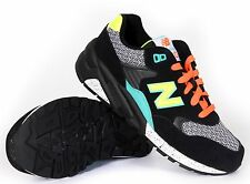 New Balance Women's Elite 580 Sneakers WRT580BK Black New With Box Authentic