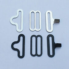 "50 ¾"" Bow Tie Hardware Sets Bow Tie or Cravat Clips Fasteners to Make Straps"