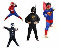 NEW SPIDERMAN BATMAN KIDS BOYS COSTUME FOR PARTY COSPLAY HALLOWEEN
