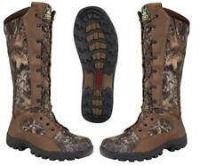 """NEW ROCKY 16"""" Prolight Waterproof SNAKE PROOF Full Grain Leather Hunting Boots"""