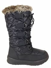 Women Snow Winter Boots Fur lined Rubber Sole Zipper Weather Proof Poala