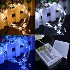 New 20 LED Battery Operated String Fairy Xmas Wedding Party Decor Lights 2M EP98