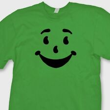 SMILE Kool Aid Man Face Vintage Drink T-shirt Funny Gift Retro Tee Shirt