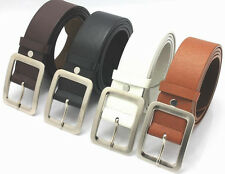 New Classic Genuine Leather Pin Buckle Casual Luxury Waist Strap Belt #XH-JD