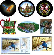 For sale a great selection of canal barge ware fridge magnets