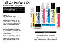 Demeter Roll On Perfume Oil .29 fl oz/ 8.8ml Choose Your Scent