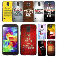 Bible Verse Word For Samsung Galaxy S5 S 5 Case Plastic Hard Phone Cover