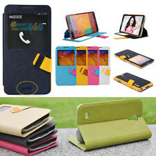 Flip Strap Magnetic Leather Wallet Case Cover For SAMSUNG GALAXY NOTE PHONES