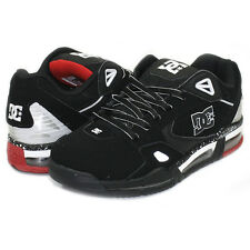 DC VERSAFLEX MENS SKATE SHOES 302832 BLACK / WHITE / ATHLETIC RED