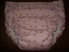 Dependeco All In One cloth adult baby diaper S/M/L/XL  ( little bee )