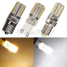 G9/E14/E17 5W Silica Gel 64 LED 3014 SMD Warm Pure White Light Bulb Lamp 110V